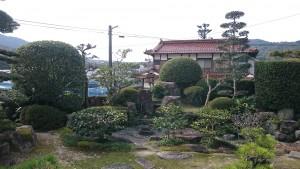 おじいちゃんの庭