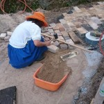 DIY庭づくり(レンガ・インターロッキング編)